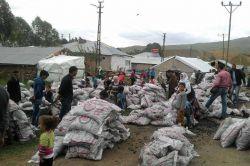 5 bin aileye kömür yardımı yapıldı