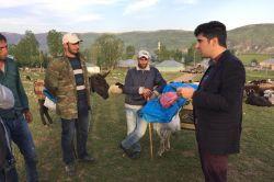 Kaymakam Yetgin'den köylere ziyaret
