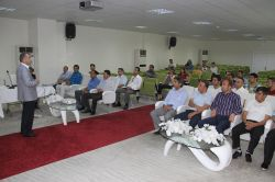 Diyarbakır'da anız yangınlarının önlenmesine yönelik toplantı foto