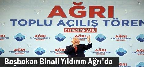 Başbakan Binali Yıldırım Ağrı'da foto