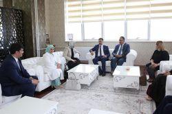 Cumhurbaşkanı Başdanışmanı IÜ Rektörünü ziyaret etti
