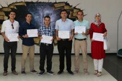 Gaziantep'te teknoloji-bilim eğitimine katılanlara sertifika verildi foto