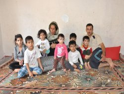 Rewşa malbata Sûriyeyî ya ku şîva şevê lê tune