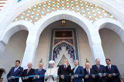 Cumhurbaşkanı Erdoğan, Esenboğa Havalimanı'ndaki caminin açılışına katıldı.