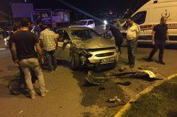 Batman'da maddi hasarlı trafik kazası