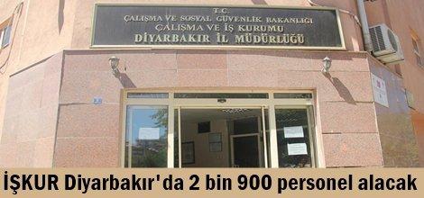 İŞKUR Diyarbakır'da 2 bin 900 personel alacak
