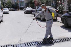 Gaziantep'te ilaçlama çalışmalar başladı