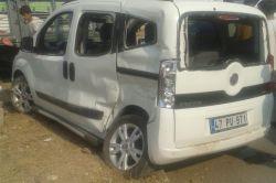 Kızıltepe-Mardin Karayolunda kaza: 1 yaralı foto