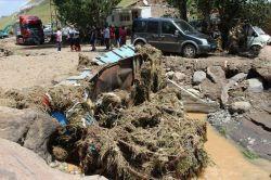 Ağrı'daki selin ardından hasar tespit çalışmaları başlatıldı foto