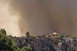 Antalya Kumluca'da orman yangını foto