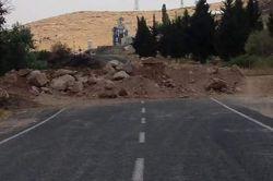 Nusaybin-Midyat karayolu trafiğe kapatıldı