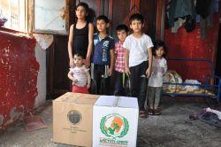 Avrupa Yetim-Der Suriyeli aileye sahip çıktı