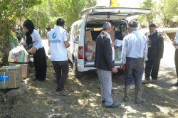 Mustazaflar Cemiyeti'nden selzedelere yardım