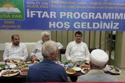 HÜDA PAR Adana'daki STK'larla iftarda buluştu