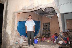 Metruk  evde yaşayan Suriyeli ailenin dramı