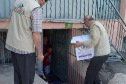 IHO-Ebrar Malatya'da muhtaç ailelere yardımda bulundu
