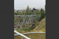 Hırsızlar 20 TL kazanç için 11 mahalleyi elektriksiz bıraktı
