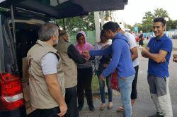 Avrupa Yetim-Der'den mültecilere anlamlı yardım foto