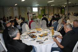 IHO Ebrar Lahey'de işadamlarına iftar verdi foto