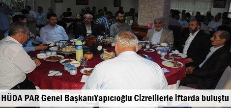 HÜDA PAR Genel BaşkanıYapıcıoğlu Cizrelilerle iftarda buluştu