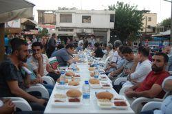Sur mağdurları ve engellilere iftar yemeği verildi