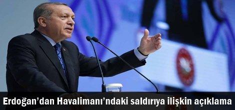 Cumhurbaşkanı Erdoğan'dan Atatürk Havalimanı'ndaki saldırıya ilişkin açıklama