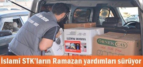 İslamî STK'ların Ramazan yardımları sürüyor