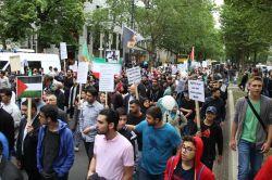 Berlin'de 'Dünya Kudüs Günü' etkinliğinde siyonist prvokasyon foto