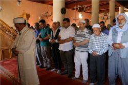 Ergani'de gıyabi cenaze namazı kılındı foto