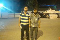 İLKHA muhabirleri serbest bırakıldı