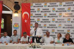 Tarsus'taki siyasi partiler darbeye karşı birleşti
