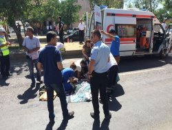 Ergani'de kamyonun çarptığı genç hayatını kaybetti