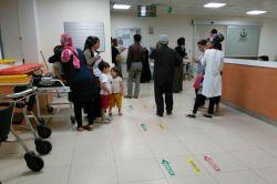 Çınarda vatandaşlar hastanelere akın etti