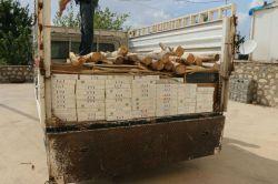 Silvan'da 24 bin paket kaçak sigara ele geçirildi foto