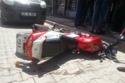 Ergani'de motosiklet kazası