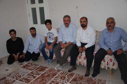 Tarsus'ta Yusufi ailelere bayram ziyareti