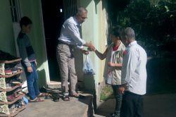 İrşad-Der muhtaç ailelere kurban eti dağıttı