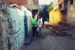 Siverek'te Yasinler kurban eti dağıttı