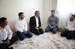 Gaziantep HÜDA PAR şehit ve FETÖ mağdurlarını ziyaret etti