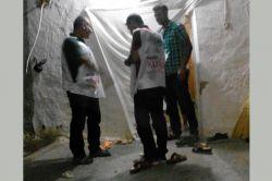 Bismil Tepe Vefa Der kurban etti dağıttı