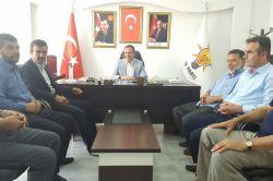Kahta HÜDA PAR'dan AK Parti'ye bayram ziyareti