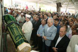 Cumhurbaşkanı Erdoğan, Zümriye İlgen'in cenaze törenine katıldı