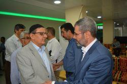 İttihad heyeti Molla Abdullatif'in taziyesine katıldı