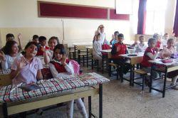 Okullar çocuklarla şenlendi