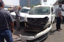 Kızıltepe'de 2 ayrı kazada 1 kişi yaralandı