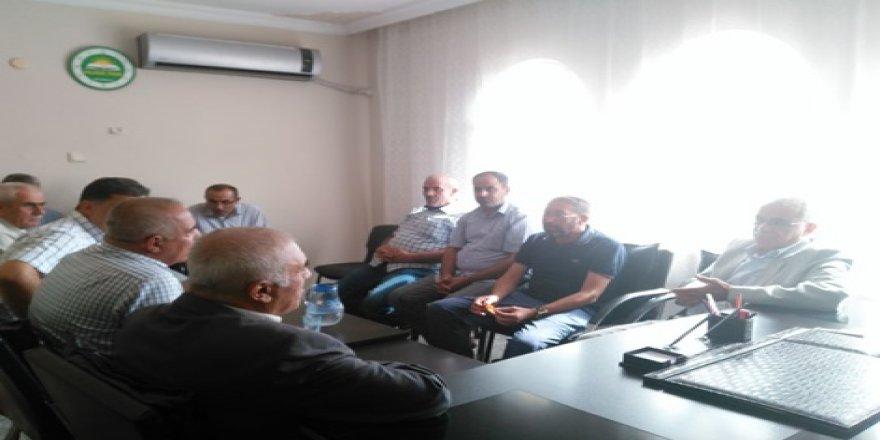 Ak Parti'den Hüda Par Çınar ilçe teşkilatına bayram ziyareti