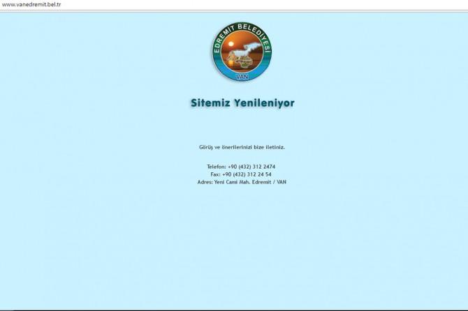 Kayyım atanan belediyelerin web siteleri yenileniyor