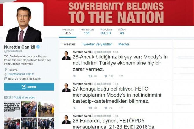 Moody's'in Türkiye notunu düşürmesi FETÖ'nün işi mi?