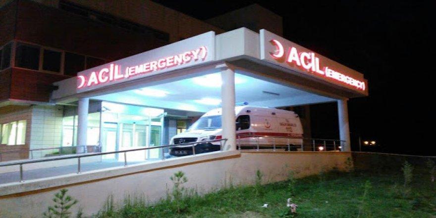 Çınar'da elektrik akımına kapılan şahıs yaralandı
