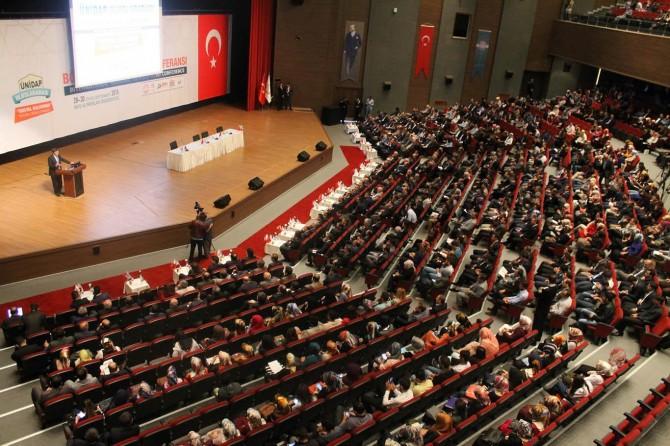 ÜNİDAP Uluslararası Bölgesel Kalkınma Konferansı Muş'ta gerçekleşti